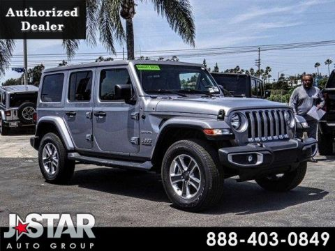 New 2018 JEEP Wrangler Unlimited Sahara With Navigation