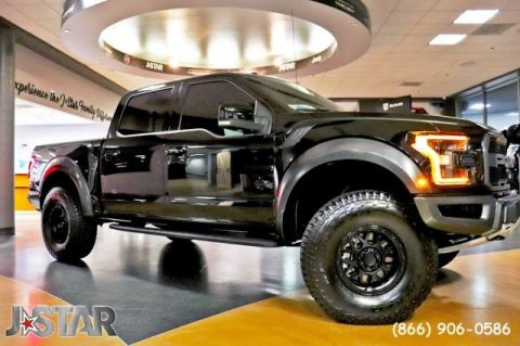 Pre-Owned 2017 Ford F-150 Raptor Four Wheel Drive Pickup Truck