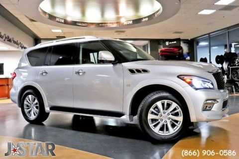 Pre-Owned 2017 INFINITI QX80 AWD