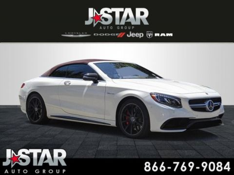 Pre-Owned 2017 Mercedes-Benz S-Class S 63 AMG® 4MATIC® 2D Convertible