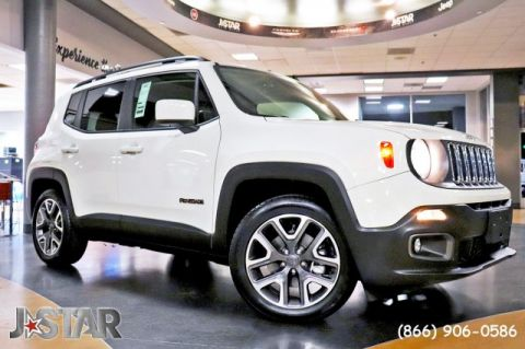 New 2018 JEEP Renegade Latitude With Navigation